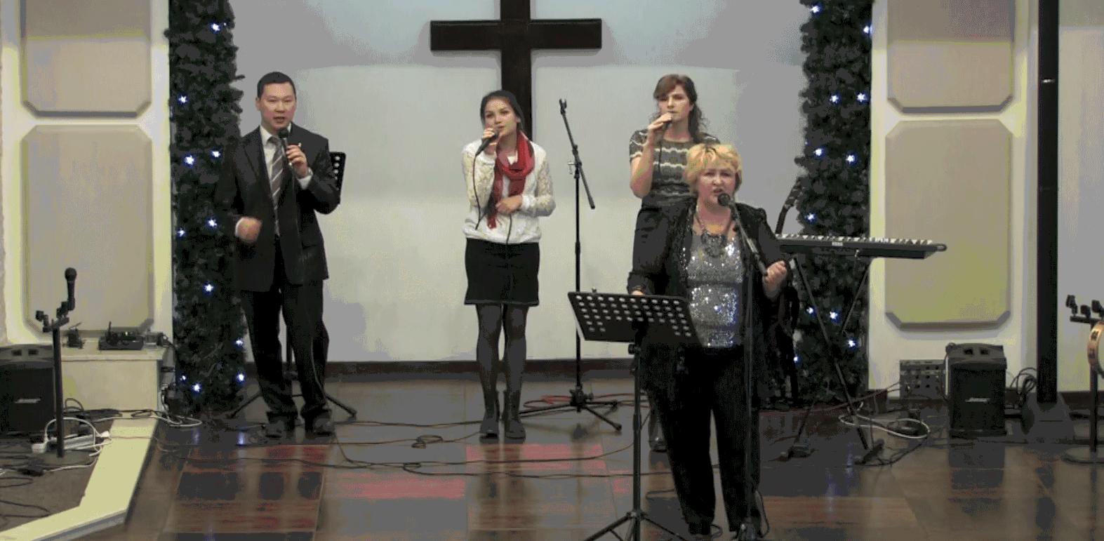 «Совершенный Бог» в исполнении Татьяны (рождественский концерт)