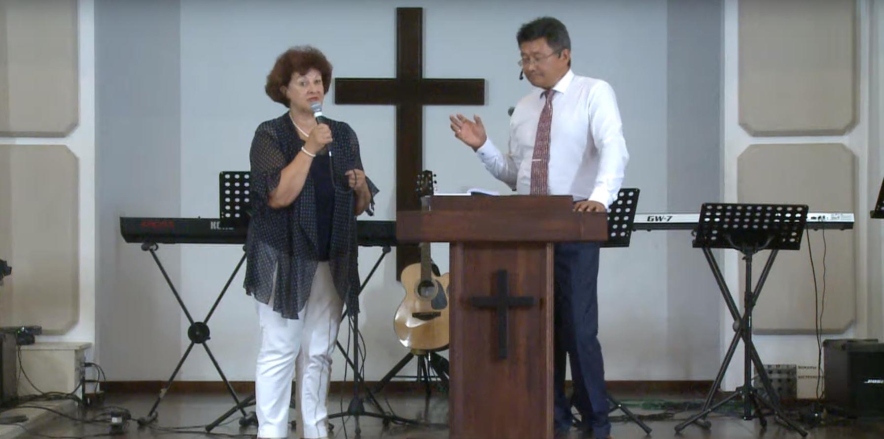Церковь-есть Тело Иисуса Христа! Проповедует пастор Геннадий Ни