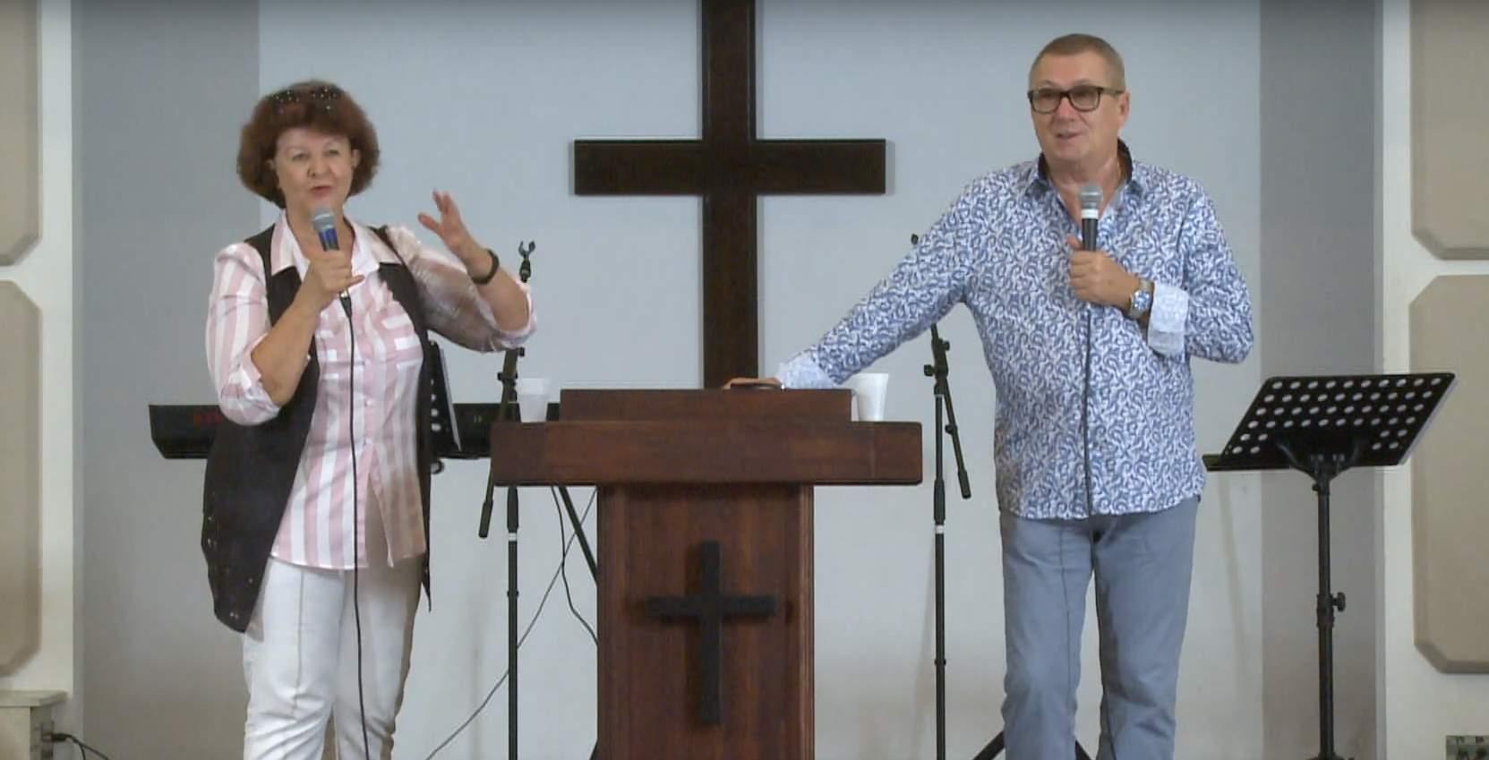 «В имени Иисуса есть сила» проповедует Олег Пермяков (г. Севастополь)