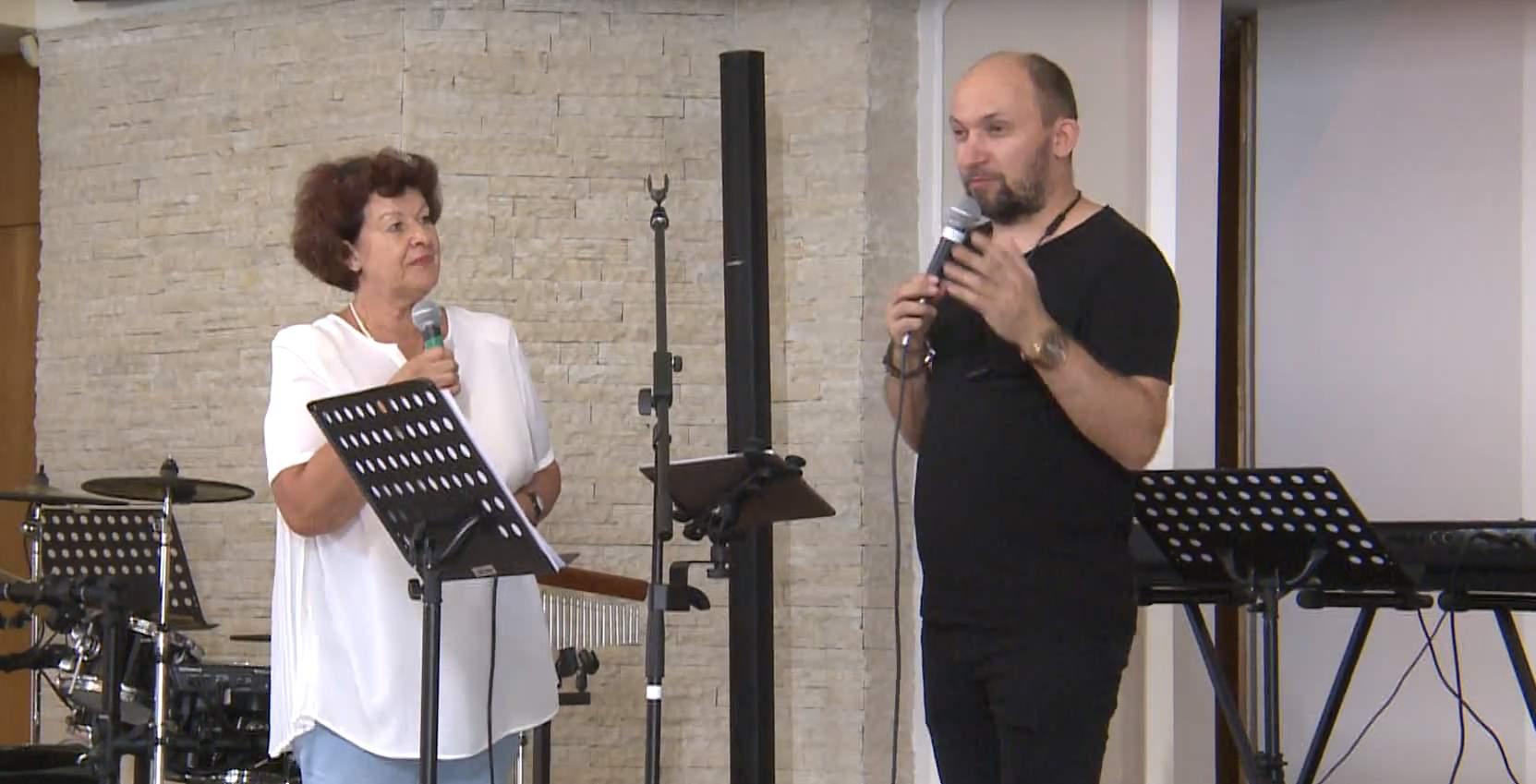 «Источник внутри тебя» проповедует Виталий Ефремочкин (Киев)