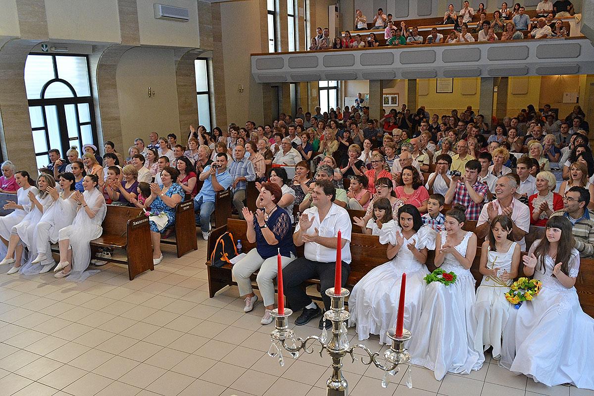 Праздник «Пятидесятницы» фото 8.06.14